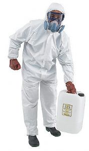 10 x PPE Disposable Suits - CAT 3 Type 5 & 6 - Asbestos Coveralls + Insulating